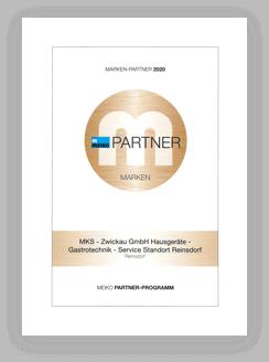 Meiko Partner Urkunde