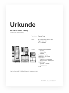 Rational Urkunde
